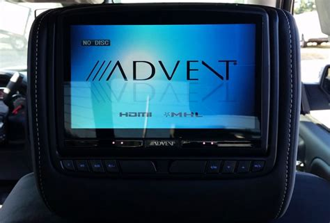 advent  dual dvd headrest system adc mobile