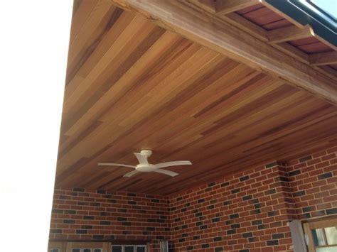 Outdoor Ceiling Fans Perth by Cedar Lining Perth For Outdoor Areas Al Frescos Eaves Etc