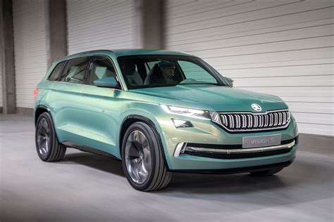 Skoda Vision S Concept Review Becoming The Kodiaq Auto