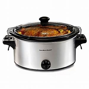 Buy Hamilton Beach® Stay or Go 6-Quart Slow Cooker from