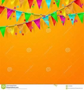 Festival, Carnival, Celebration Orange Background Stock ...