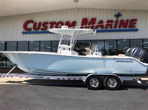 Sportsman Boats Statesboro by 2017 Sportsman Open 282 Center Console Statesboro