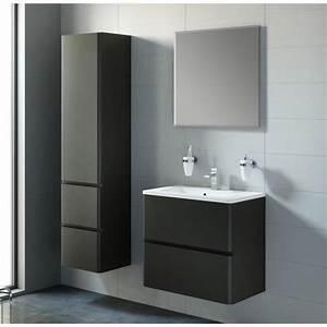 meuble de salle de bain noir With meuble sdb noir