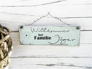 Türschild Familie Holz : die besten 25 draht name ideen auf pinterest kette mit ~ Lizthompson.info Haus und Dekorationen
