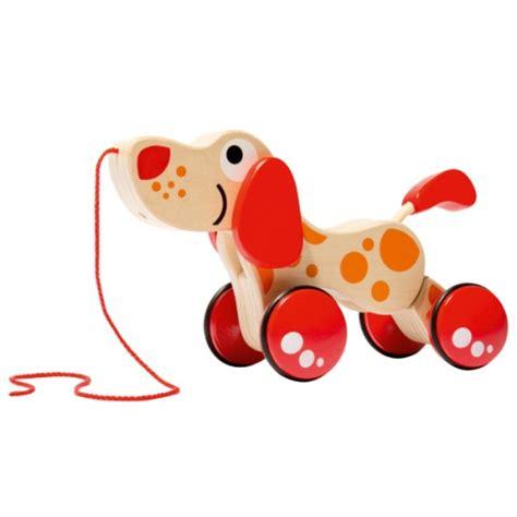 siege auto espace 4 chien à tirer en bois hape pour enfant de 1 an à 4 ans