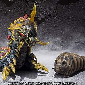 S.H. MonsterArts Godzilla Vs Mothra - Mothra Larva ...