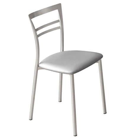 chaises de cuisine chaise de cuisine en métal go 4 pieds tables