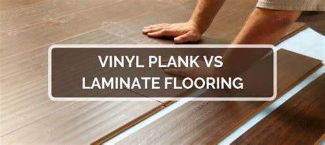 vinyl vs laminat vinyl plank vs laminate flooring 2019 comparison pros cons
