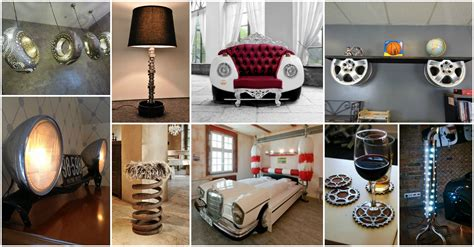bathroom decorating ideas 15 fascinating recycled car parts ideas