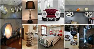 15+ Fascinating Recycled Car Parts Ideas