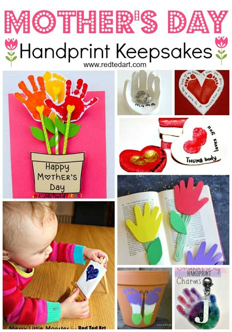 easy s day crafts for to make ted 628 | Mothers Day Handprint ideas
