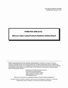 Form Fda 3646