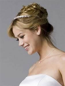 Coiffure Femme Pour Mariage : chignon pour mariage cheveux mi long ~ Dode.kayakingforconservation.com Idées de Décoration
