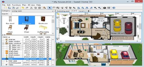 Sweet Home 3d Download : Sweet Home 3d 5.3 (free Download ) For Windows Here