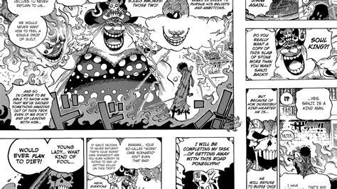 One Piece Manga Chapter 851 Review & Recap Sanji's