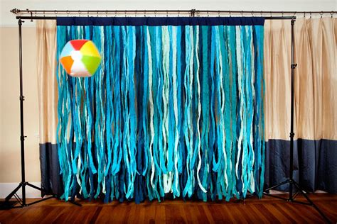Photo Booth Backdrop by Shades Of Blue Fabric Photo Booth Backdrop Nautical