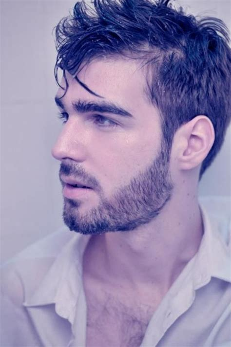beard styles short trimmed guys facial hair sexy