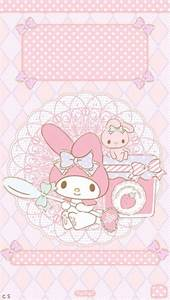My Melody - Pink Strawberry - Sanrio Hello Kitty … | Maria ...