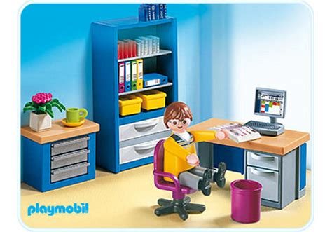 bureau playmobil the home office 4289 a playmobil