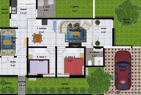 desain rumah minimalis  lantai  kamar terbaru