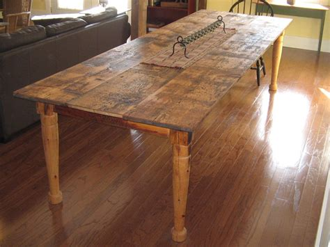 farmhouse kitchen furniture i want a table you can rough up and only make it look better kitchens pinterest dining