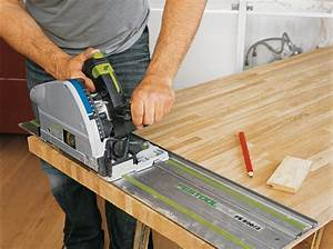 fixer le plan technique maison travaux With decoupe evier plan de travail
