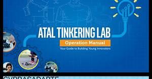 Atal Tinkering Lab Operation Manual And Handbook