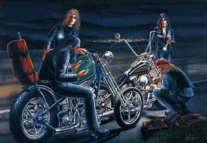EASYRIDERS DAVE MANN | BIKER ART | The Selvedge Yard
