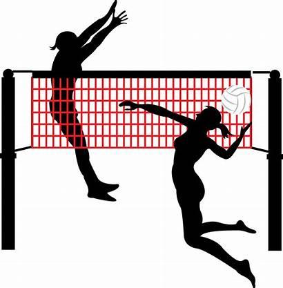 Volleyball Clipart Ball Sand Player Transparent Beach