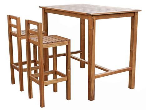 bar pour cuisine ikea ensemble table haute 2 chaises de jardin en acacia