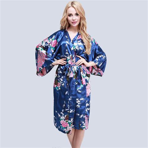 robe chambre femme femme peignoir satin kimono nuisette robe de