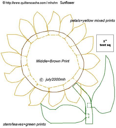 sunflower template sun flower template 28 images sunflower digital st pot plant cut file template sun flower