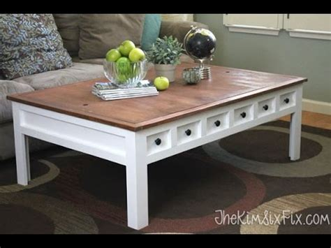 Apothecary Style Coffee Table That Doubles As A Train And