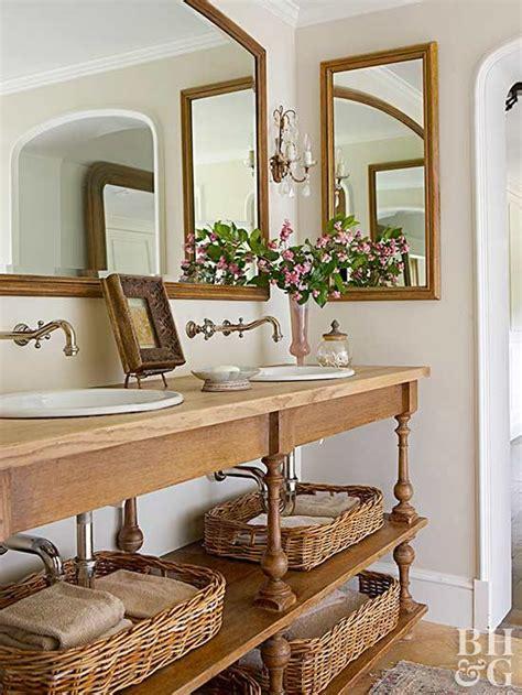 Rustic Spa Bathroom by Rustic Bathroom Ideas Better Homes Gardens