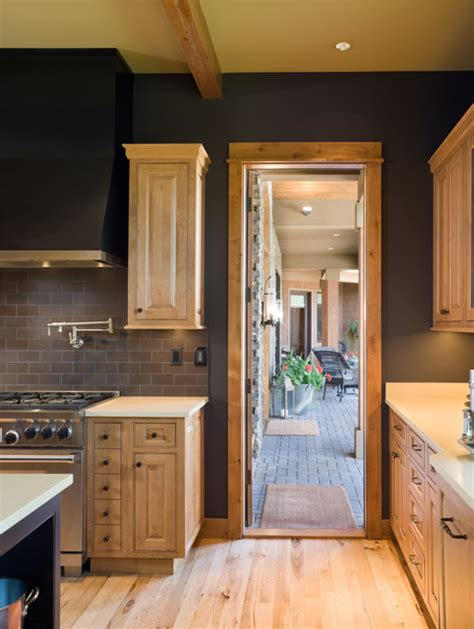 stainless kitchen cabinets true residence rustic kitchen portland by alan 2467