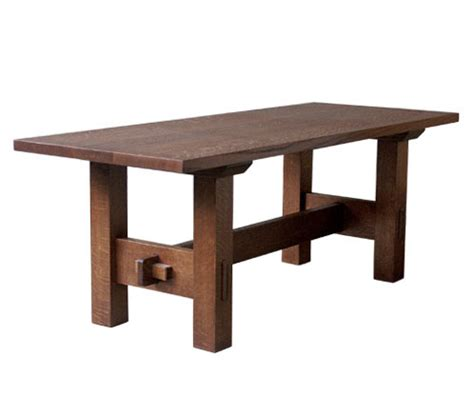 arts and crafts coffee table dining table arts crafts style dining table