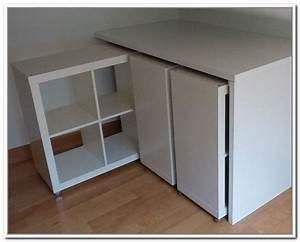 Ikea Hacks Podest : bildergebnis f r bett podest ikea selber bauen a stauraum pinterest desk hacks ikea desk ~ Watch28wear.com Haus und Dekorationen