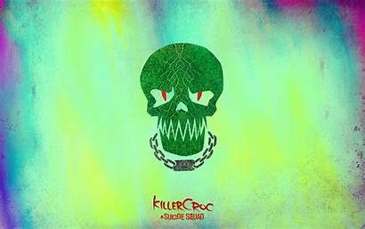 Suicide Squad Killer Croc Wallpapers Skull Background