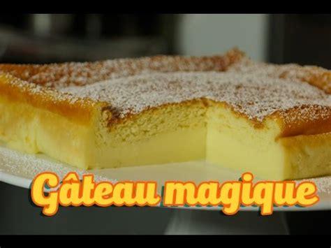 recette facile gateau magique  la vanille magic cake