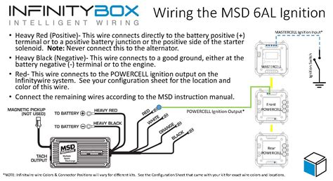 wiring  msd ignition system infinitybox