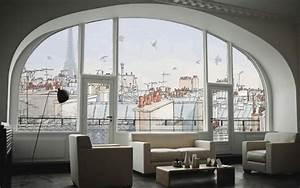 Fototapete Fenster Aussicht : innovative wandtattoos das neue aussehen der fototapete ~ Michelbontemps.com Haus und Dekorationen