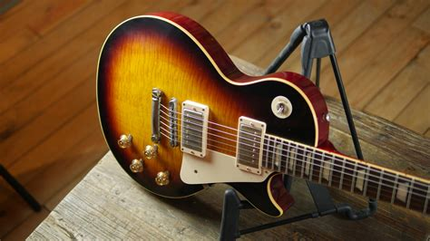 gibson custom shop 1959 les paul reissue vos faded tobacco