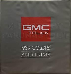 1989 Chevy G Van Wiring Diagram Manual Original