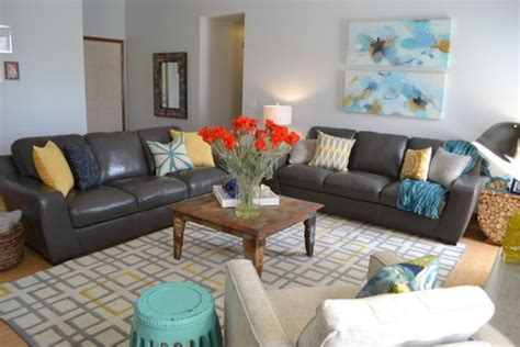 grey yellow and turquoise living room jc living room contemporary living room omaha by