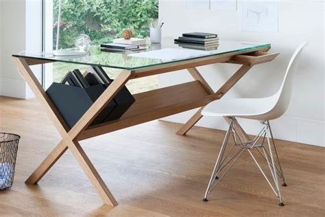 glass top work desk 25 best desks for the home office man of many