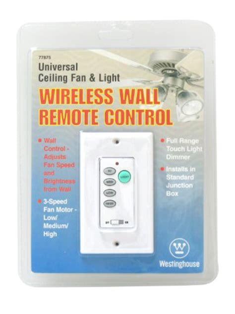 wireless fan and light control westinghouse 7787500 wireless ceiling fan and light wall