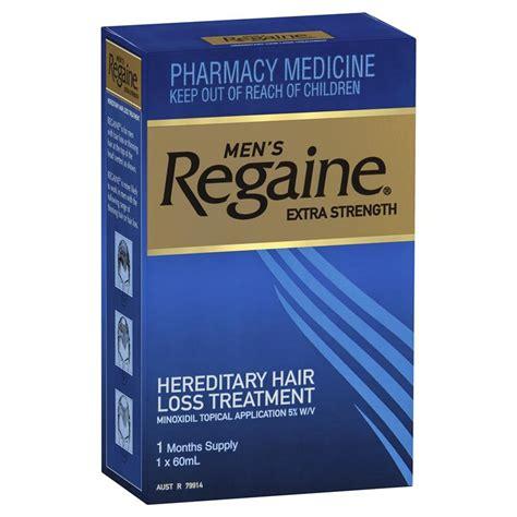 Buy Regaine for Men Extra Strength (5%) 60ml (1 month