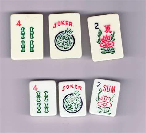 mah jong tiles visually impaired mah jongg set