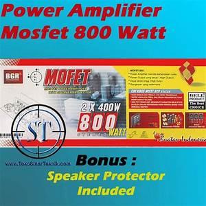 Harga Kit Power Amplifier Mosfet