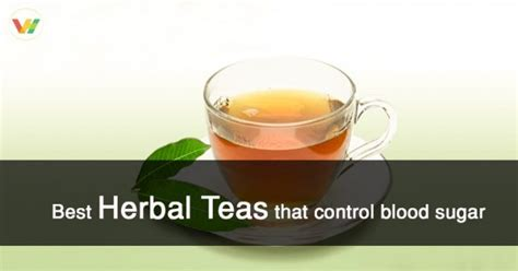 blood sugar   prevent  manage   herbal teas